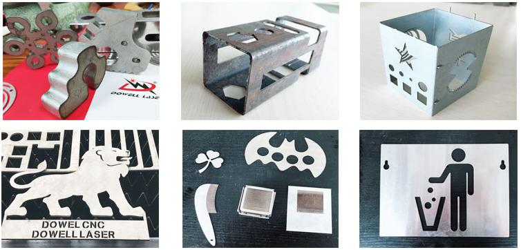 金属激光切割机产品效果