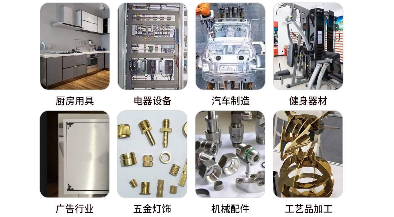 金属激光切割机应用领域